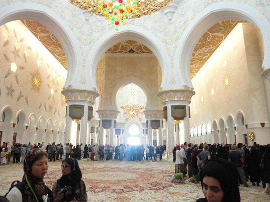 Scheich-Zayid-Moschee: Sala principale
