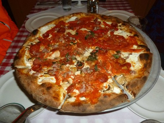 Photo of Italian Restaurant Grimaldi's Coal Brick Oven at 133 Clinton St, Hoboken, NJ 07030, United States