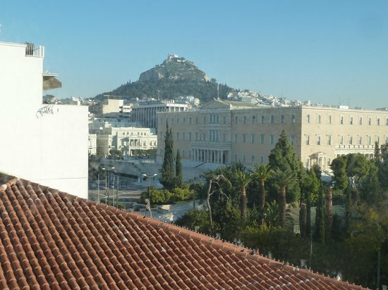 Amalia Hotel: View from 508