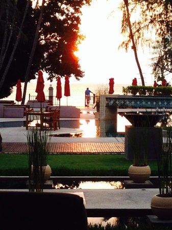 Amari Koh Samui : The sun coming up