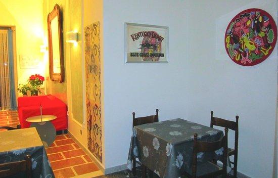 Hotel Virgilio: sala tv - caffetteria