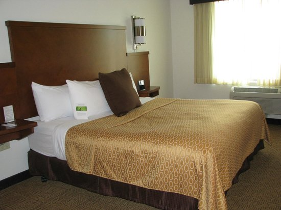 Hyatt Place Portland Airport / Cascade Station : Wonderfully Comfortable King Bed