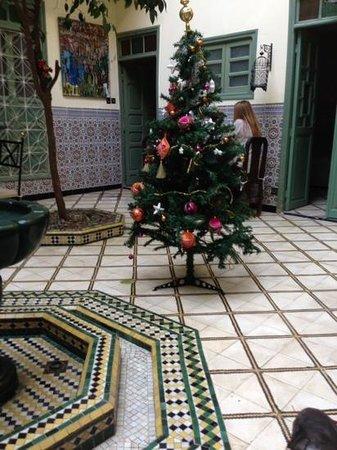 Dar Limoun Amara : weihnachtliche stimmung inklusive