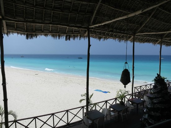 The Z Hotel Zanzibar: View from restaurant