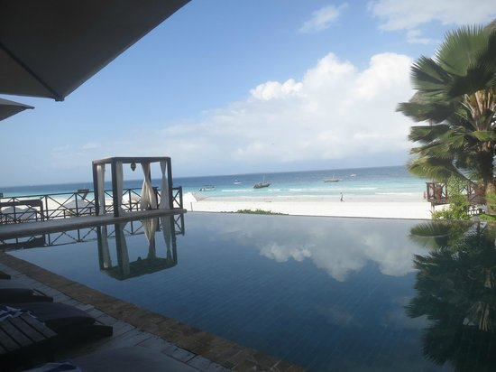 The Z Hotel Zanzibar: Infinity pool