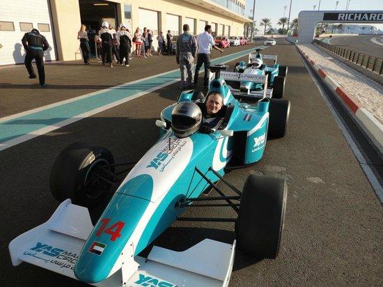 Yas Marina Circuit: F3000 durante una pausa
