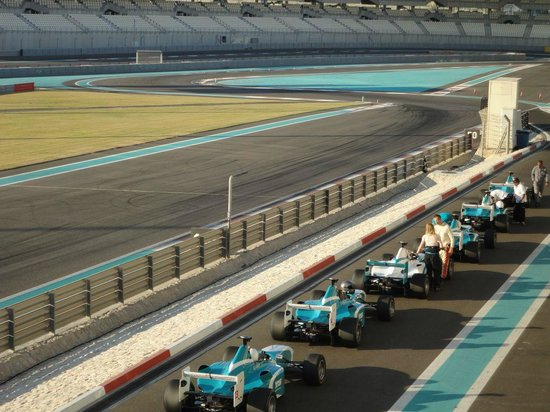 Yas Marina Circuit: Circuito