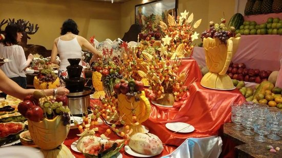 Hotel Majesctic Colonial Punta Cana: Christmas Eve Buffet