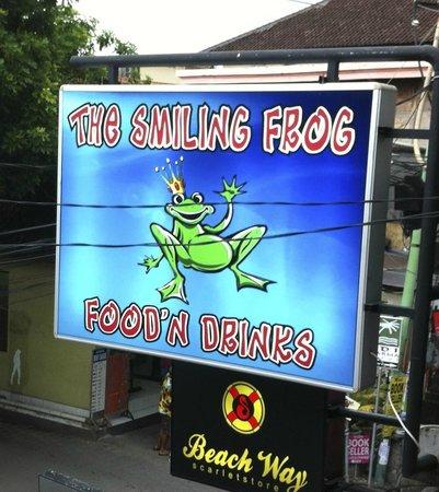 The Smiling Frog: laatste keer minder.2013