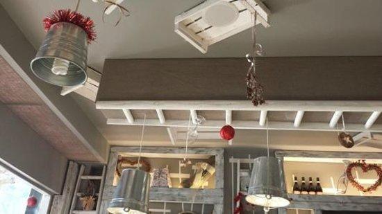dettagli dell 39 arredamento con decorazioni natalizie picture of il bistrot 4 5 rome tripadvisor