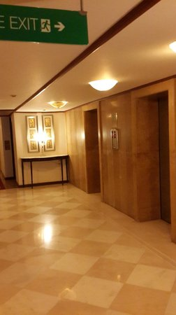 The Gateway Hotel, Agra: lift lobby