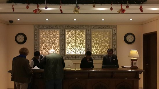 The Gateway Hotel, Agra: reception