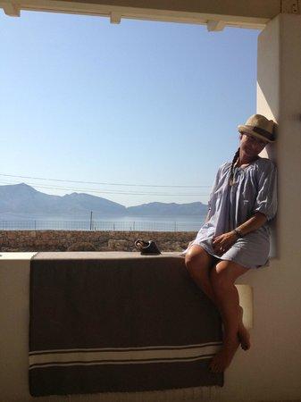 Thalasso: Terrazza vista Keros