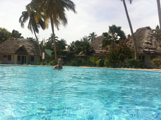 Visitor's Inn Hotel: Picine et bungalow