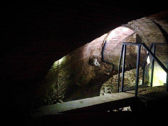 Ospedale del Ceppo : sotterranei