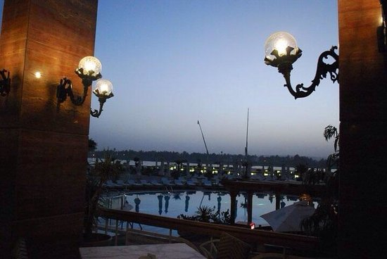Sonesta St. George Hotel Luxor: The pool area