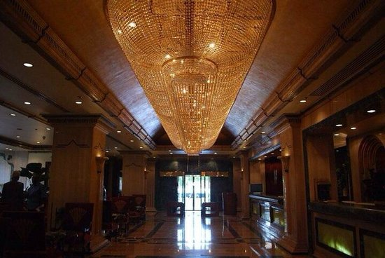 Sonesta St. George Hotel Luxor: The reception area