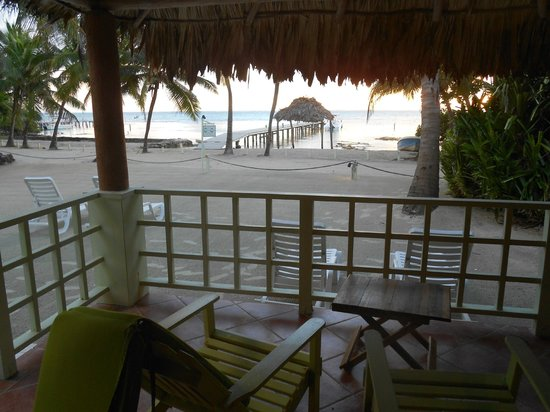 Caye Casa : View from our unit