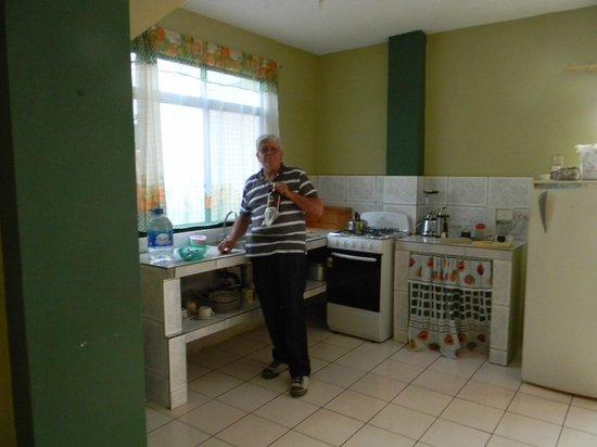 Casa de Nelly: cocina de nuestro dpto