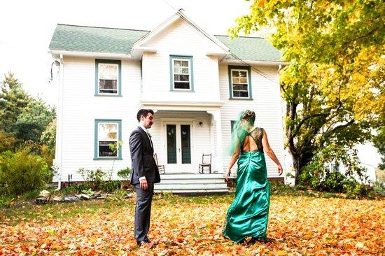 Friendly Crossways Retreat Center: Rustic Chic wedding