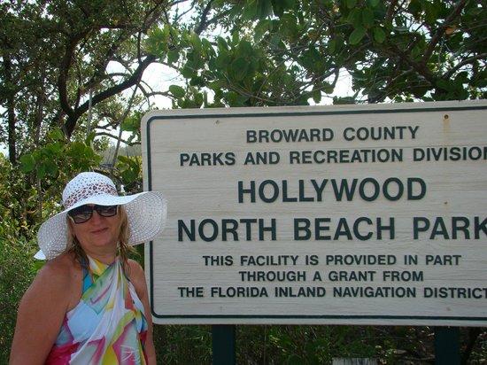 Hollywood North Beach Park март 2017г