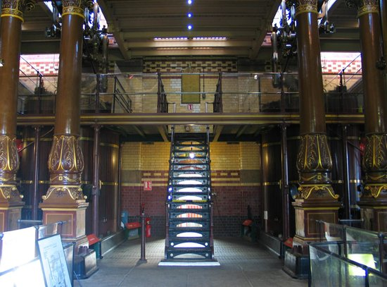 Abbey Pumping Station interior.