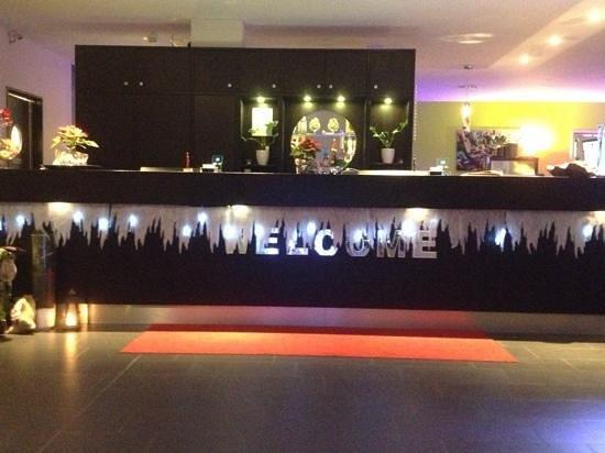 Friendly Cityhotel Oktopus: reception !
