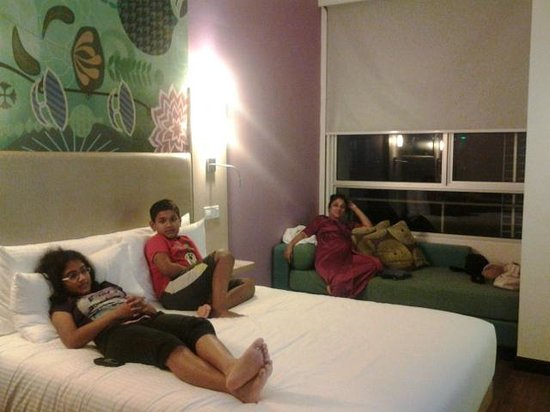 ibis Styles Kuala Lumpur Fraser Business Park: A view of Double Room