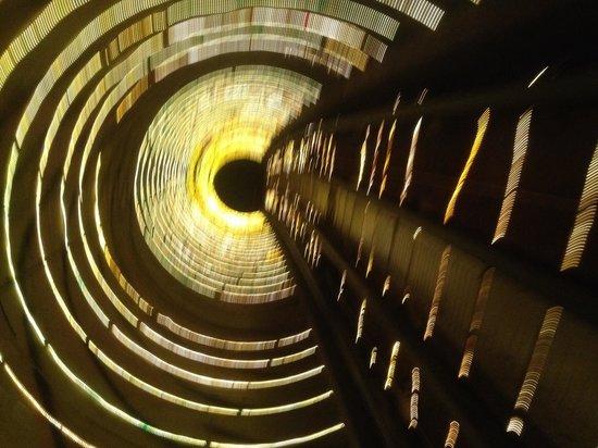 Bund Sightseeing Tunnel: Première vue