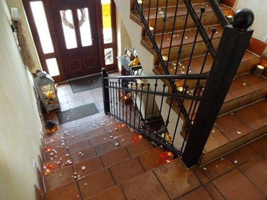 Locanda Casa Rossa: Eingang zum Lokal