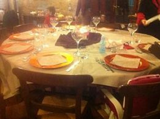 Casale Mariandre: tavolo cenone