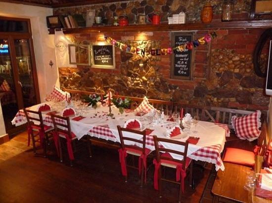 Locanda Casa Rossa: Feiern mit gutem Essen...