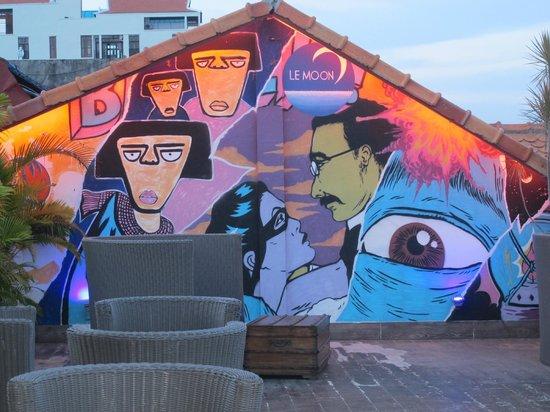 AMANJAYA Pancam Suites Hotel: Rooftop bar
