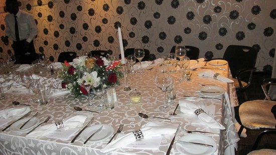 Clico Boutique Hotel: Function dinner