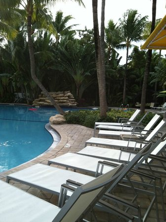 The Inn at Key West: Plenty of space to lounge
