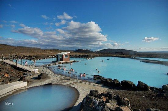 Lake Myvatn, Iceland: Bains naturels de Mývatn