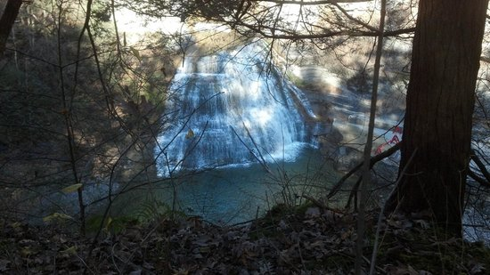 Robert Treman State Park : Falls at Robert  Treman State Park