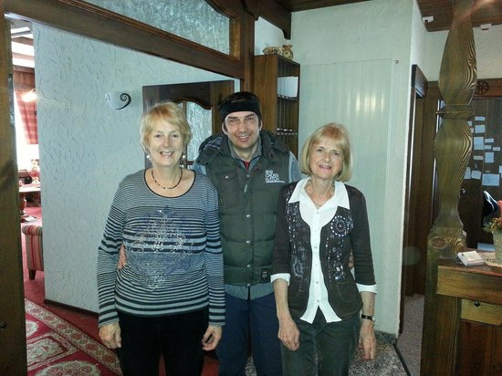 Hotel Artemis Garni: With two of the sister owners