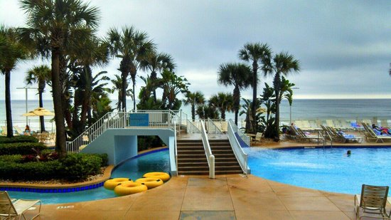 Wyndham Ocean Walk: Pool and lazy river