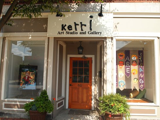 Willimantic, CT: Kerri Art Studio & Gallery