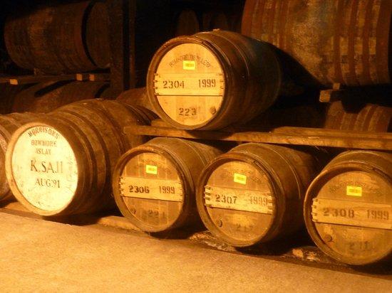 Bowmore Distillery : kleine Schätze