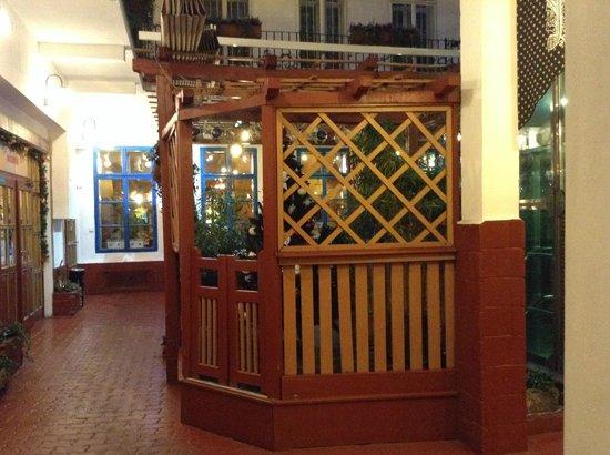 Hotel Salvator: ingresso