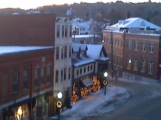 Lord Camden Inn : View of the town!