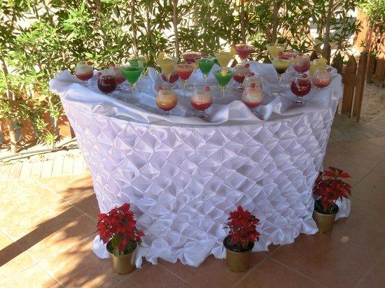 Jaz Dahabeya : Weihnachtscocktails an der Strandbar