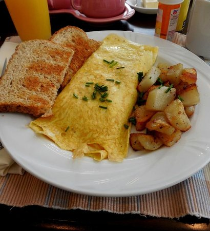 Carisbrooke Inn Bed and Breakfast : One of the breakfast options
