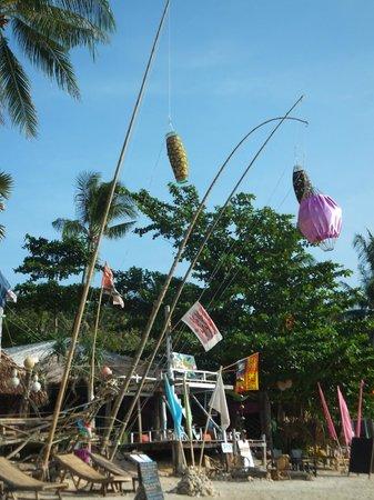 """Khlong Khong Beach : """" cloud 9 """" beachbar at khlong khong"""