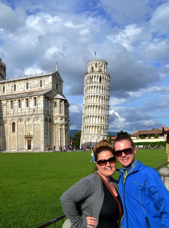 Walkabout Florence Tours: us as Pisa
