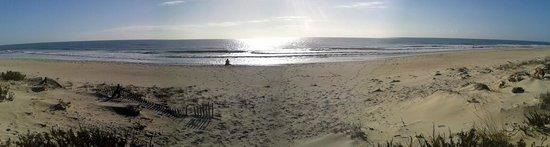 Praia do Barril : Panoramic beach view