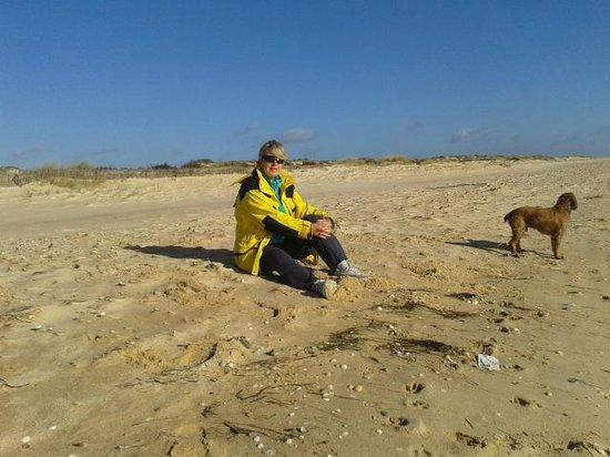 Praia do Barril : Doggy (and wife!) heaven!
