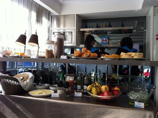 Hotel LBP: 早餐一隅
